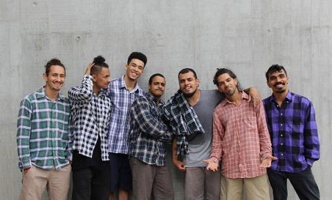 Grupo Zumb.boys participa da 15ª edição do BA-TA-LHA no SESC 24 de Maio