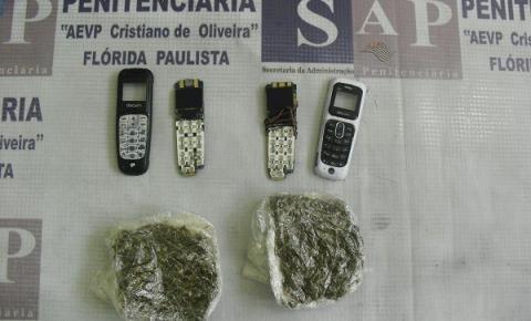 Fim de semana é marcado por apreensões de celulares e entorpecentes na entrada de presídios