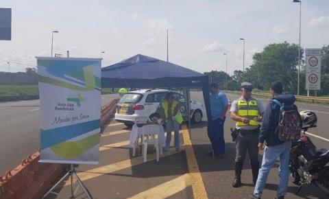 Policiamento Rodoviário realiza abordagens educativas