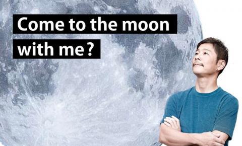 Milhares de mulheres se inscrevem para ir à Lua com bilionário japonês