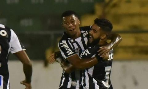 Fora de casa, Santos FC vence Guarani pelo Campeonato Paulista