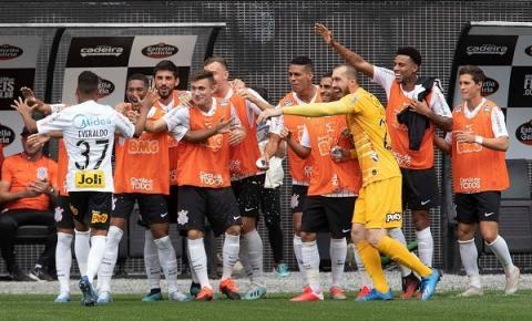 Caiu na rede! Corinthians vence Santos na Arena Corinthians pelo Paulistão