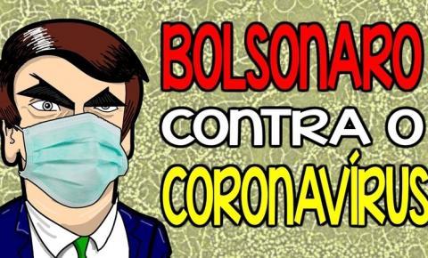 CORONAVÍRUS encontra BOLSONARO