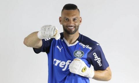 Weverton amplia contrato com o Palmeiras até dezembro de 2024