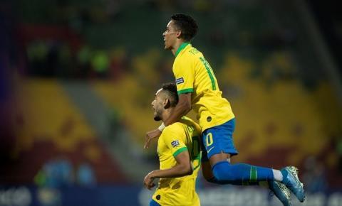 Com Pedrinho, Brasil derrota a Argentina e garante vaga na Olimpíada de Tóquio-2020