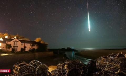 Explosão de meteoro deixa a noite clara como o dia na Inglaterra