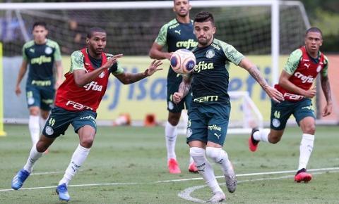 Verdão se reapresenta após vitória e treina na Academia de Futebol