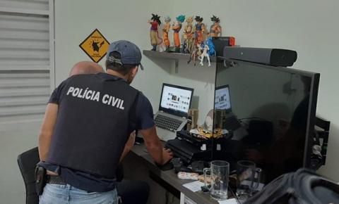 Operação contra pornografia infantil cumpre mandados no Brasil e no exterior