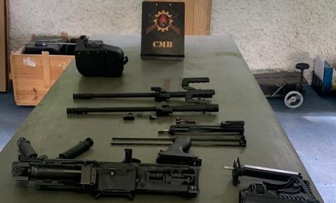 Polícia Militar inicia fase de testes para a aquisição de metralhadoras leves
