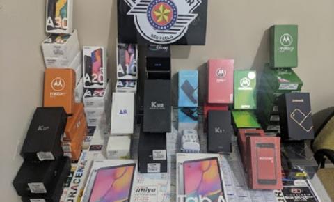 Polícia Militar age rapidamente e recupera todos os produtos furtados e prende  autores