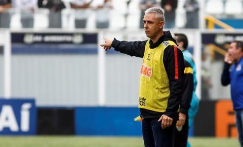 Tiago Nunes comenta partida do Corinthians em Diadema pelo Paulistão