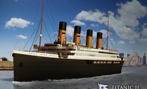 Uma réplica do Titanic voltará a navegar em 2022 e fará a mesma rota que o original