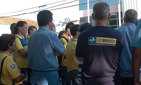 Apoio a pedido de funcionários dos Correios é item único na 5ª sessão