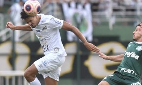Santos FC empata com Palmeiras pelo Campeonato Paulista