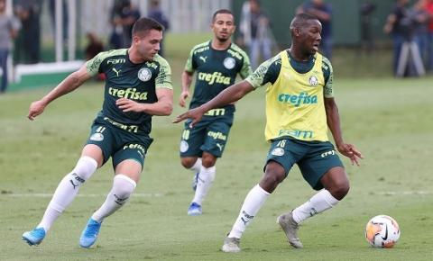 Palmeiras treina na Academia e embarca para Argentina para estreia na Libertadores
