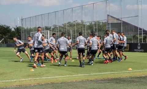 Corinthians tem treino tático antes de novo duelo pelo Paulista