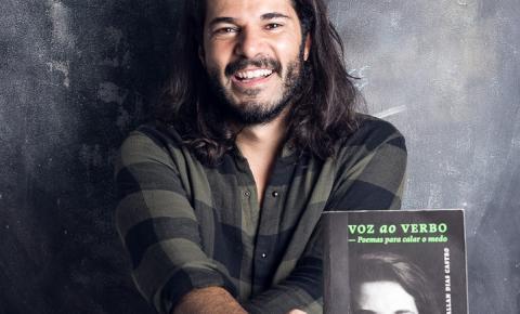 Depois de 100 milhões de visualizações nas plataformas digitais, livro de poeta gaúcho fica entre os mais vendidos do país