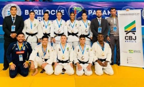 Judô brasileiro brilha e conquista quinze medalhas no Aberto Pan-Americano de Bariloche