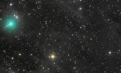 Aproximação de cometa gera expectativa entre astrônomos