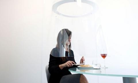 Menu na tela do celular e cabine: os restaurantes no pós-coronavírus