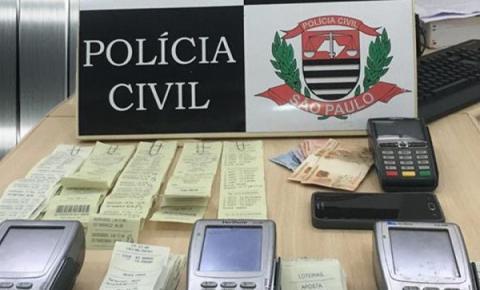 Polícia Civil apreende quatro máquinas usadas em 'jogos do bicho'