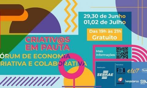 SEBRAE promove fórum gratuito sobre economia colaborativa na pandemia