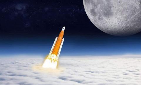 Nasa testa foguete que levará astronautas de volta à Lua