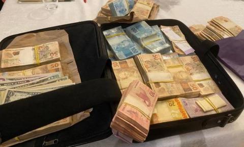 MP encontra mala de dinheiro em ação que mira ilegalidades de ex-governador petista do DF