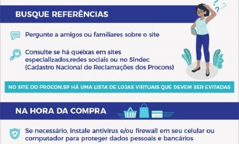 Procon-SP dá dicas de segurança para compras pela internet