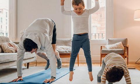 Atividades físicas para as crianças durante (e depois) da quarentena