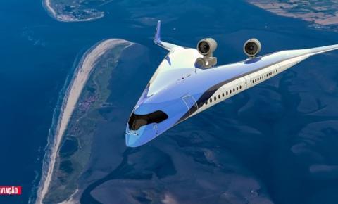 Avião com design revolucionário pode mudar o futuro das viagens aéreas