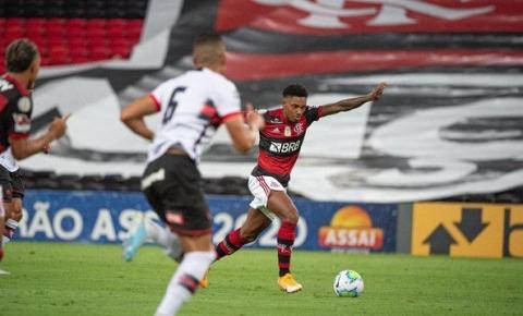 Flamengo sai na frente, mas cede o empate para o Atlético-GO no Maraca