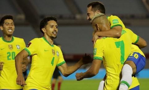 Brasil vence Uruguai e segue 100% nas eliminatórias da Copa do Mundo