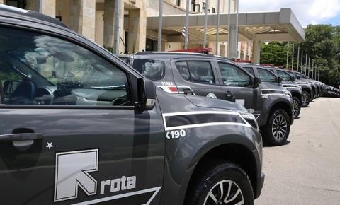 Governo de SP entrega as primeiras viaturas blindadas para a PM