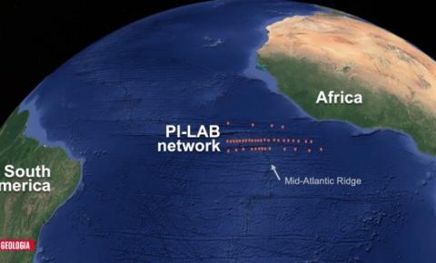 Fenômeno alarga Oceano Atlântico e separa ainda mais as Américas da Europa e África