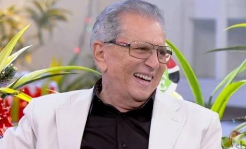 Carlos Alberto de Nóbrega é internado após receber diagnóstico de Covid-19
