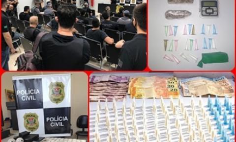 Onze pessoas foram presas durante operação em Guararapes e Birigui
