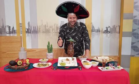 Receita exclusiva: Chef Guga destaca culinária mexicana