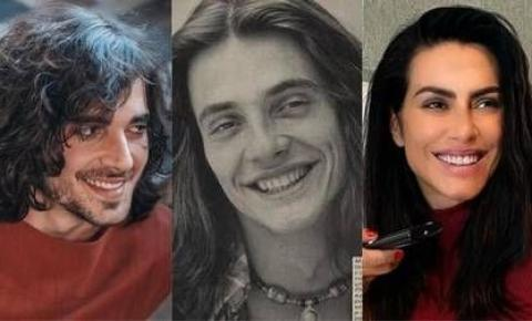 Fiuk ou Cleo? Fábio Jr. posta foto jovem e web compara semelhanças com filhos
