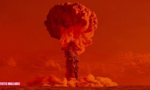 Testes nucleares da França no Oceano Pacífico afetaram 110 mil pessoas