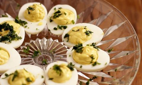 3 ideias originais para preparar ovos recheados