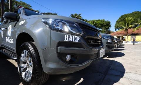 BAEP apreende adolescente infrator, por tráfico e porte de arma no bairro Hilda Mandarino