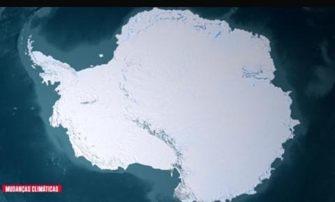 Como ficariam a Antártida e a Groenlândia caso o gelo derretesse