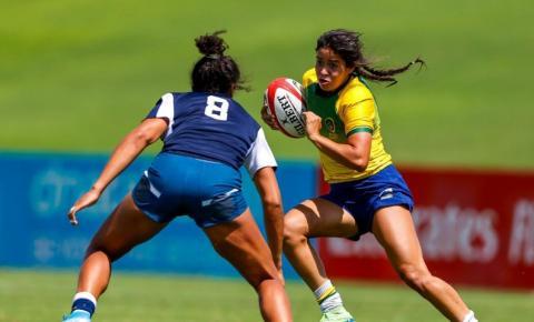 Seleção feminina de rugby encerra 1º dia em Dubai na quarta posição