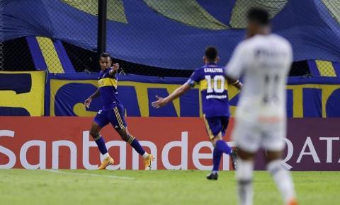 Libertadores: Santos é superado pelo Boca na Bombonera