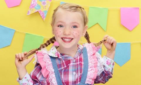 Festa Junina online: aprenda a fazer maquiagem infantil