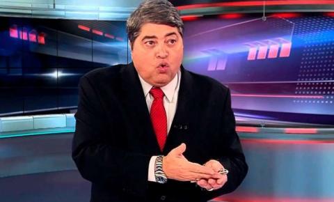 """Filho de Datena é internado com Covid-19: """"Não está bem"""""""