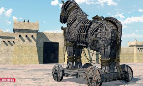 Pesquisadores afirmam que encontraram o lendário Cavalo de Troia