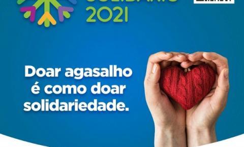 Campanha do Agasalho: Aqueça o coração de alguém com a solidariedade