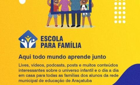 Conheça mais sobre o Programa Escola para Família